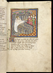 The Death Of King Offa, In John Lydgate's 'Lives of St. Edmund and St. Fremund', etc.